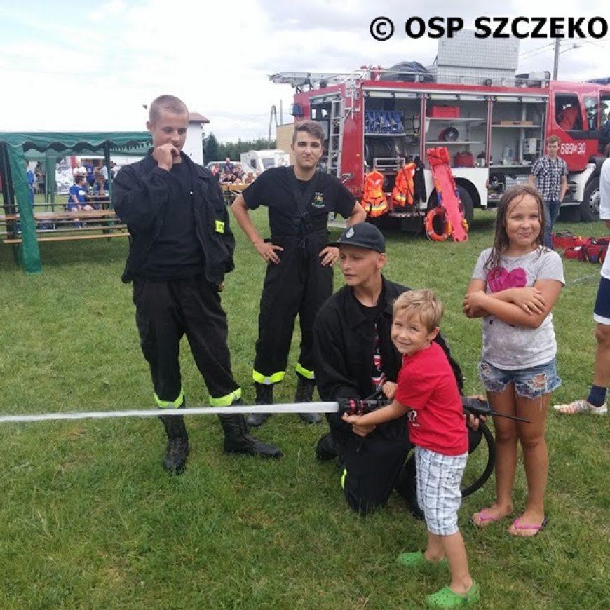Pokaz sprzętu ratowniczego na festynie w Szczekocinach