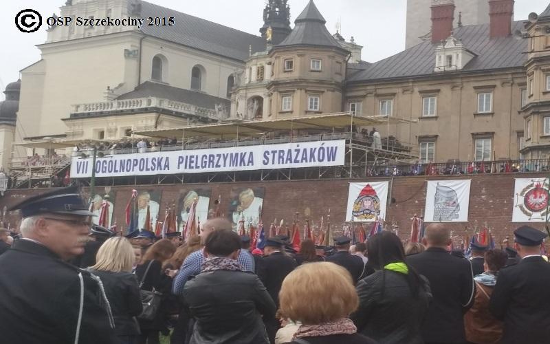 VII Ogólnopolskiej Pielgrzymce Strażaków na Jasną Górę