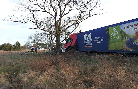 Wypadek samochodowy we wsi Grabiec