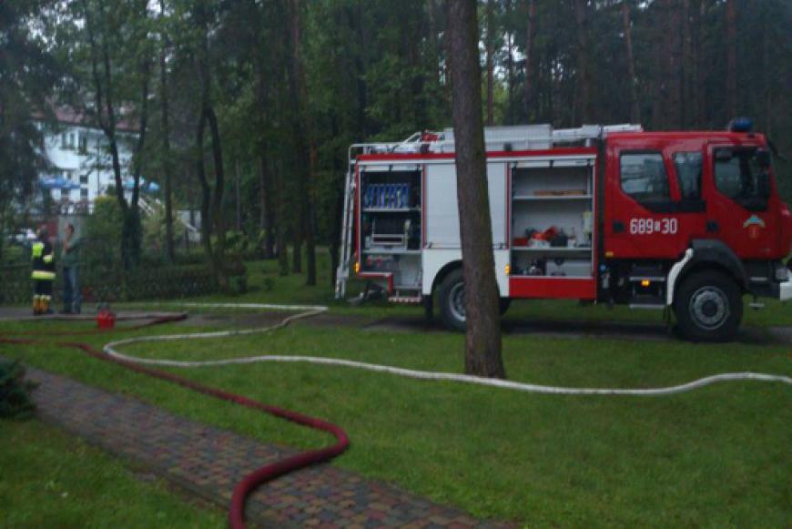 Wypadek Samochodowy między wsią Starzyny a miejscowością Psary
