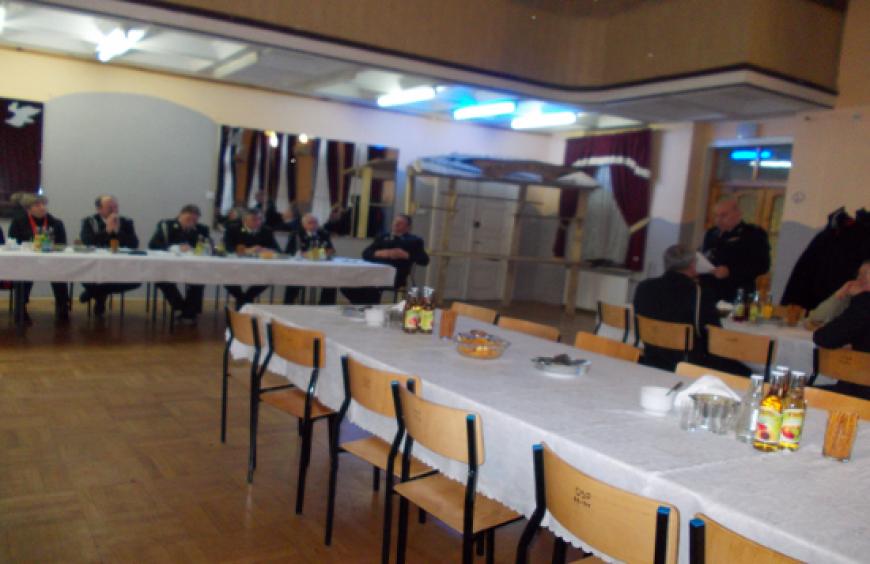 Zebranie sprawozdawcze za rok 2013