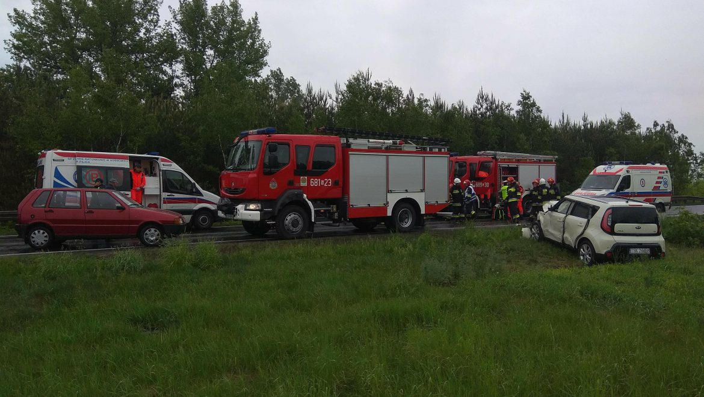 Wypadek – Bonowice DK78 15.05.2018